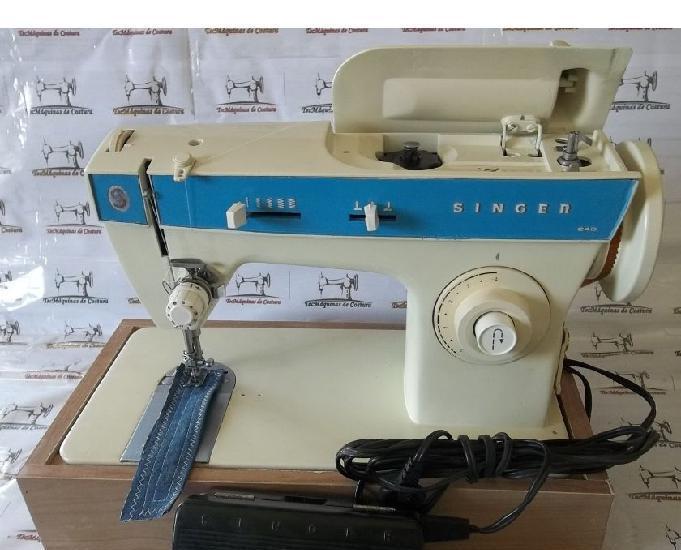 Máquina costura singer 248 - costura reto e zigzag - 110v