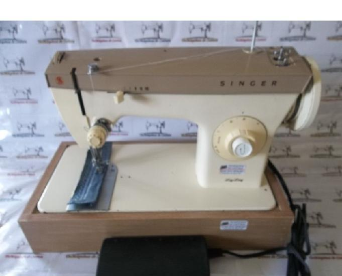 Máquina costura singer 24c-costura reto e zigzag-110v