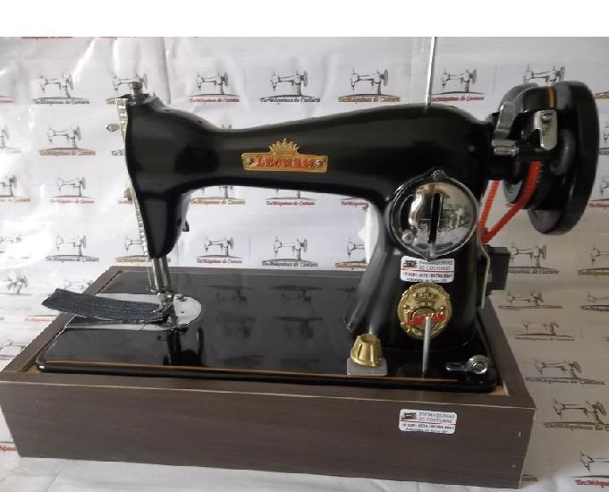 "Máquina costura""leonam""-clássica vintage - super linda"