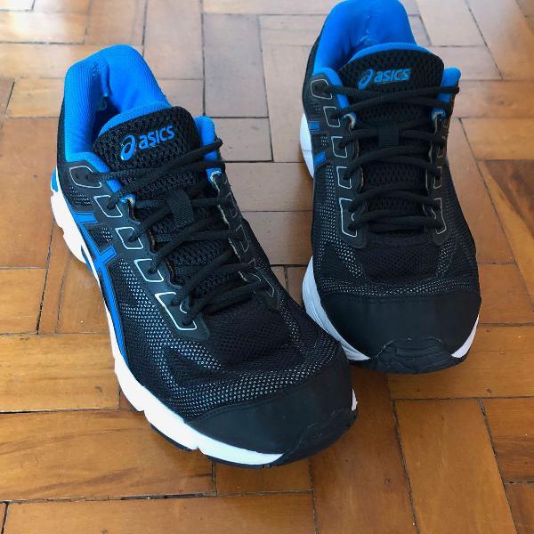 Tênis asics gel impression 9 azul e preto - tam. 42