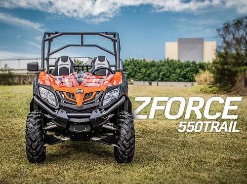 Utv cf moto zforce 550t - 4x4 automático + direção