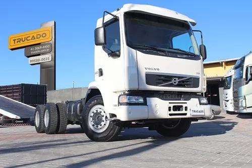 Volvo vm 260 6×4 2009 no chassi = documentado doc caçamba