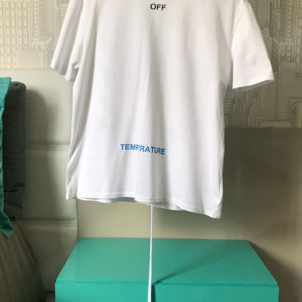 Blusa off white hype temperature
