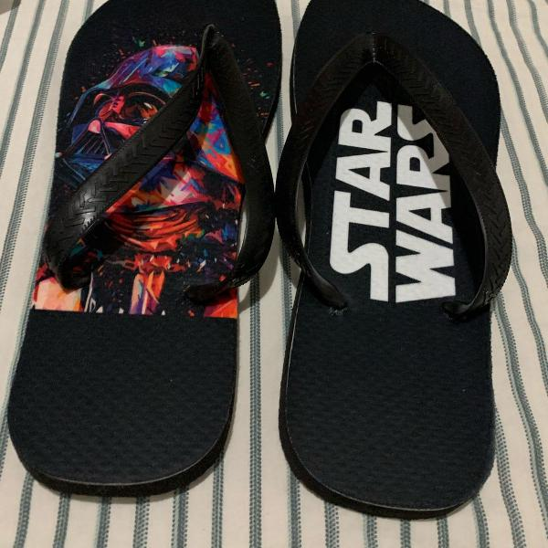 Chinelo personalizado star wars