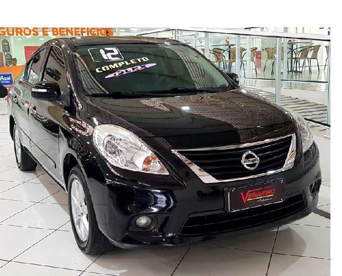 Nissan versa sl 1.6 flex completo 2012 - financio