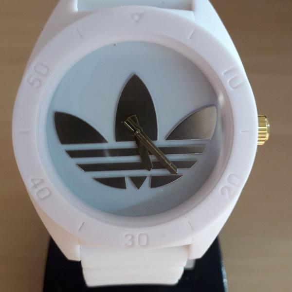 Relógio adidas santiago esportivo white