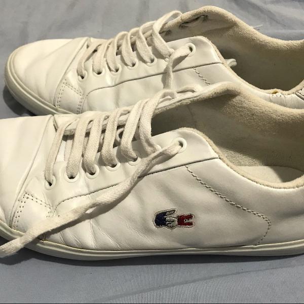 Tênis lacoste branco 41