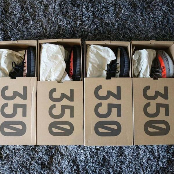 Yeezy boost 350 varios modelos