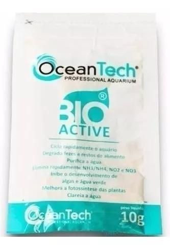 1 unidade - acelerador biologico bio active 10g ocean tech