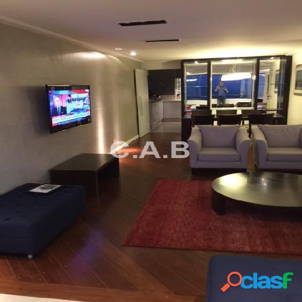 Apartamento totalmente mobiliado- alpha club - alphaville