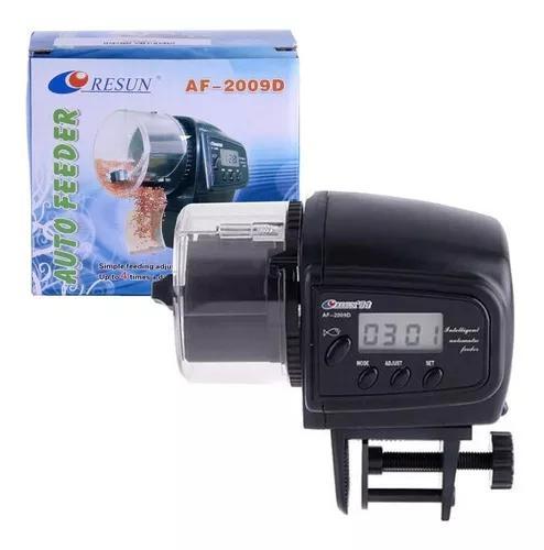 Alimentador automático dosador comida peixes aquario - a01