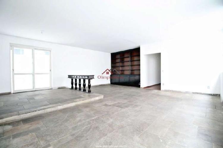 Apartamento para locação com 153m² - cerqueira césar, sp