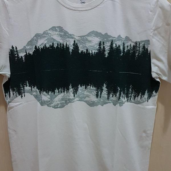 Camiseta masculina slim