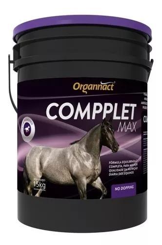 Compplete max balde 15kg - comppletmax organnact p/ equinos