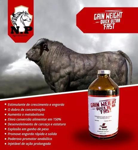 Gain weight kick ultra fast engorda bovinos