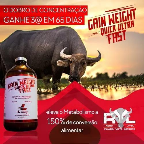 Gain weight kick ultra fast engorda rápida bovinos