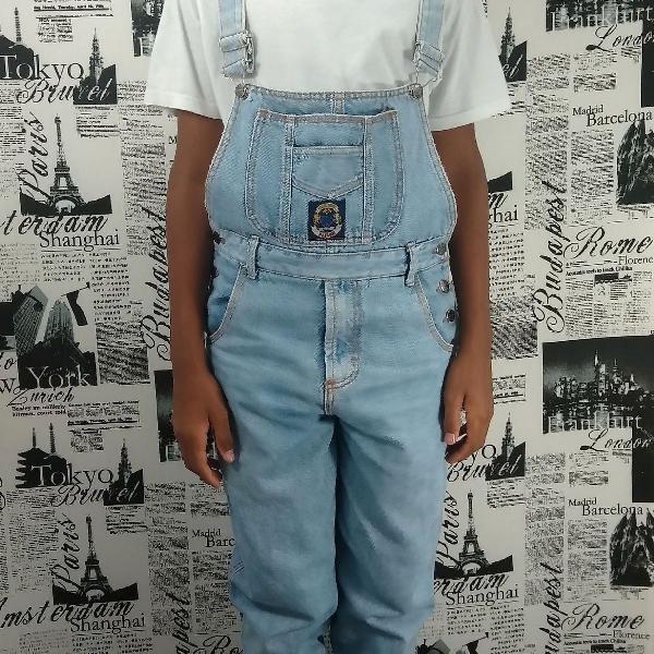 Jardineira jeans paiol trade mark tam 38 original