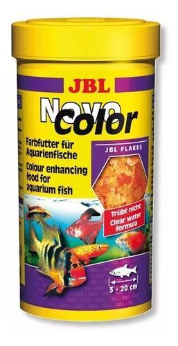 Jbl novo color 45g ração p/ cores de peixes água doce