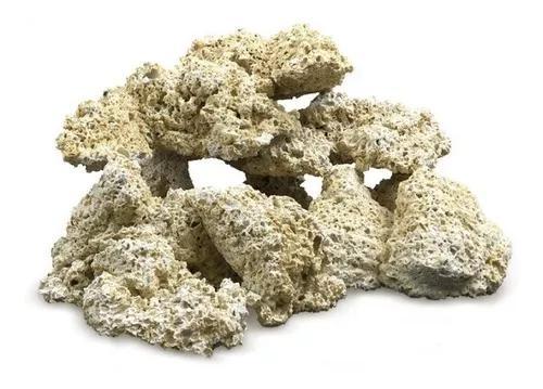 Mbreda rocha reef vulcan white (g) 2 litros p/ aquarios