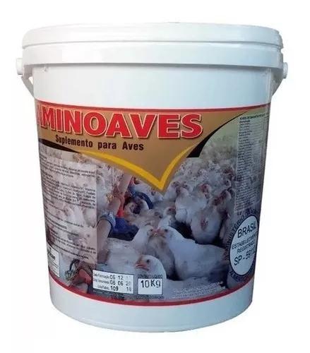 Núcleo para ração de aves - aminoaves 10 kg