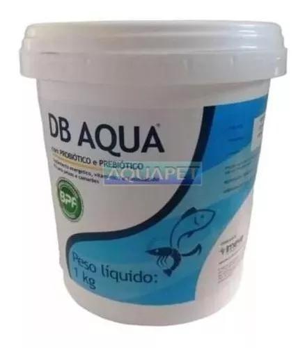 Probiótico e vitamína para peixes e camarão db aqua 1 kg