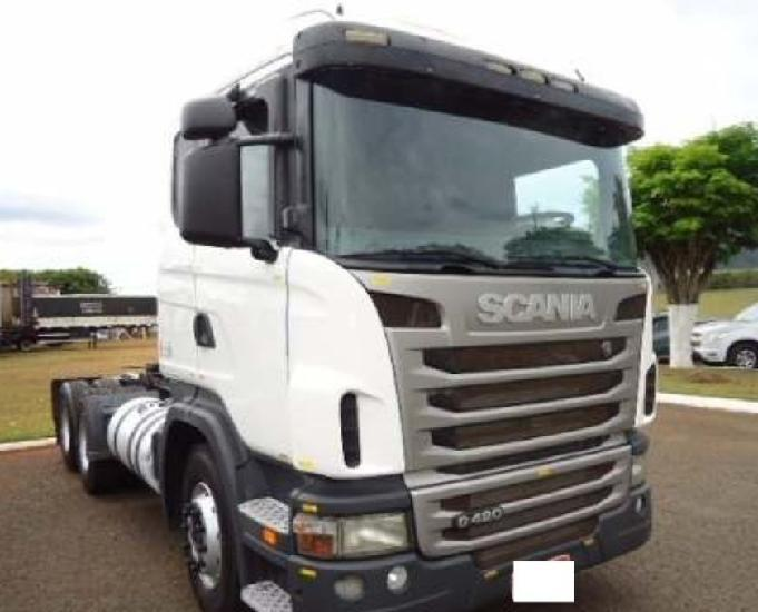 Scania g 420 6x2 trucado ano 2010