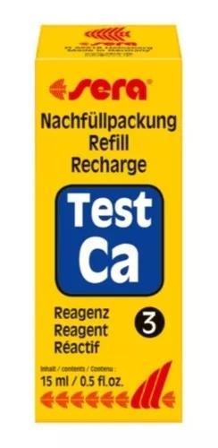 Sera refil teste de cálcio -reagente3 aquário água