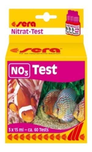 Sera teste de nitrato no3 - p/ aquário água doce ou