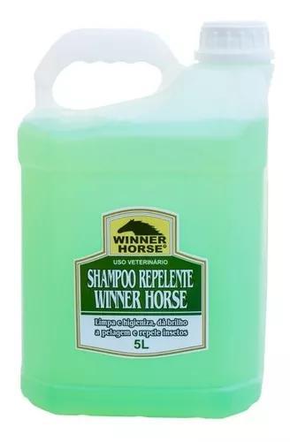 Shampoo repelente gl 5 lts - winner horse