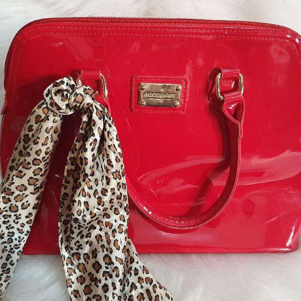 Bolsa vermelha marca accessory vermelha