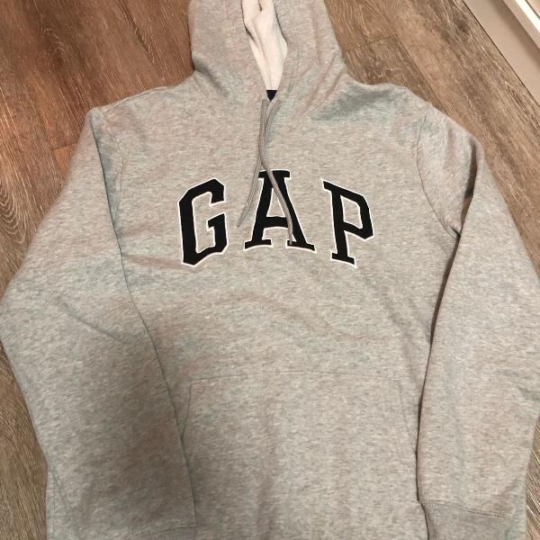 Moletom masculino cinza gap