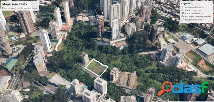 Terreno 2.520 m2 (zm) jardim ampliação - morumbi (sp)