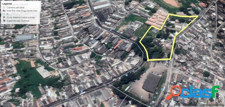 Terreno 9.669 m2 (zm) no valo velho - zona sul - sp