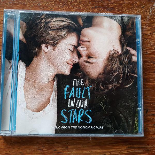 """Cd """"a culpa é das estrelas"""" - trilha sonora"""