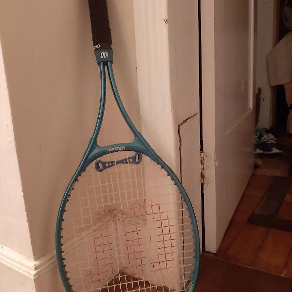 Raquete tênis wilson verde advantage 95