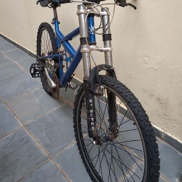Bicicleta aro 26 peças shimano, 18v
