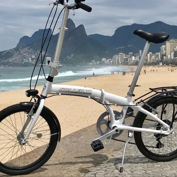 Bicicleta dobrável italiana ( pouco uso)