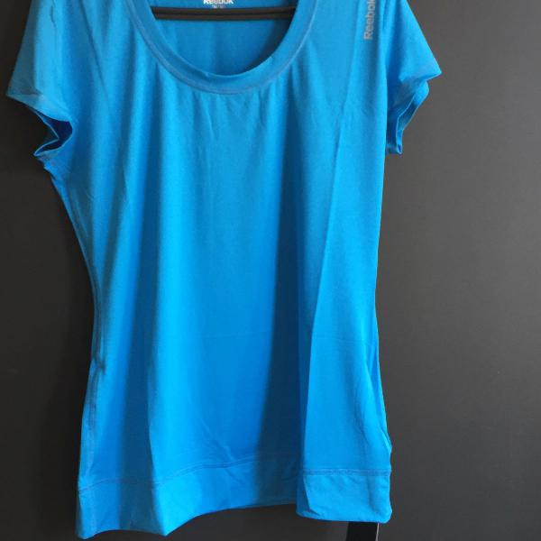 Camiseta dry fit reebok tamanho m