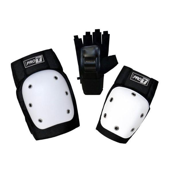 Kit protetores traxart dg-300 pró p/ patins/ skate