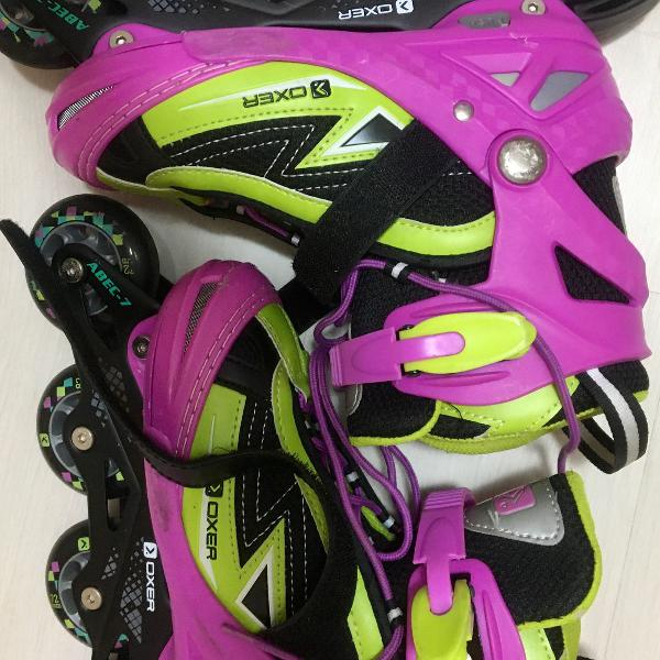 Patins inline: oxer- monster abec 7