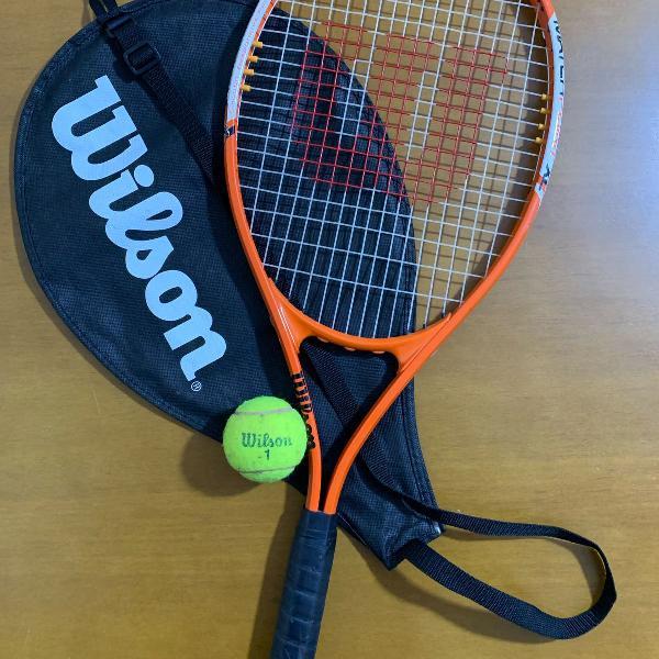Raquete de tênis wilson profissional