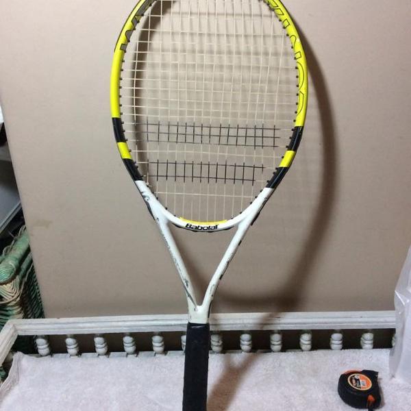 Raquete tenis babolat contact time 275gr headsize 680cm2