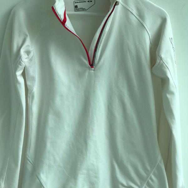 T shirt de manga salomon trail run/ski