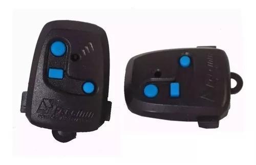 2x controle peccinin original com pilha - preto