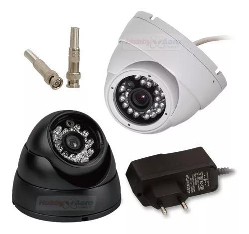 Camera dome 24 led segurança infra vermelho 1000 linhas