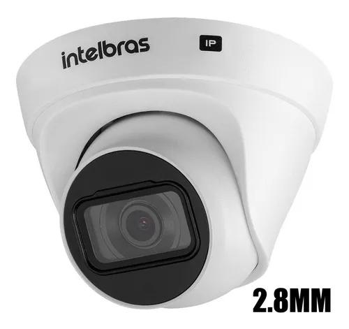 Camera dome ip intelbras hd 720p infra 20m vip 1020d 2,6mm
