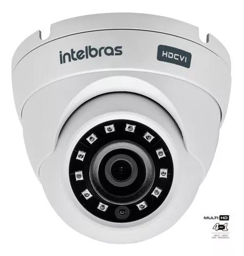 Camera intelbras infra dome 20m multi hd vhd 3120d g4 2,6mm