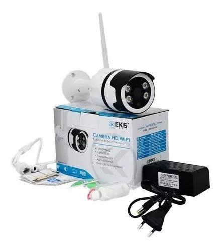 Camera ip externa ip66 à prova d'água wifi yoosee