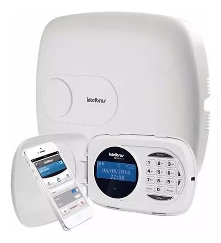 Central de alarme intelbras ip gsm e ethernet amt 2118eg