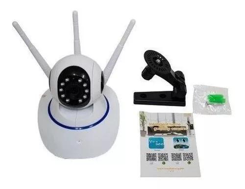Câmera 360° ip robo wifi visão noturna celular /